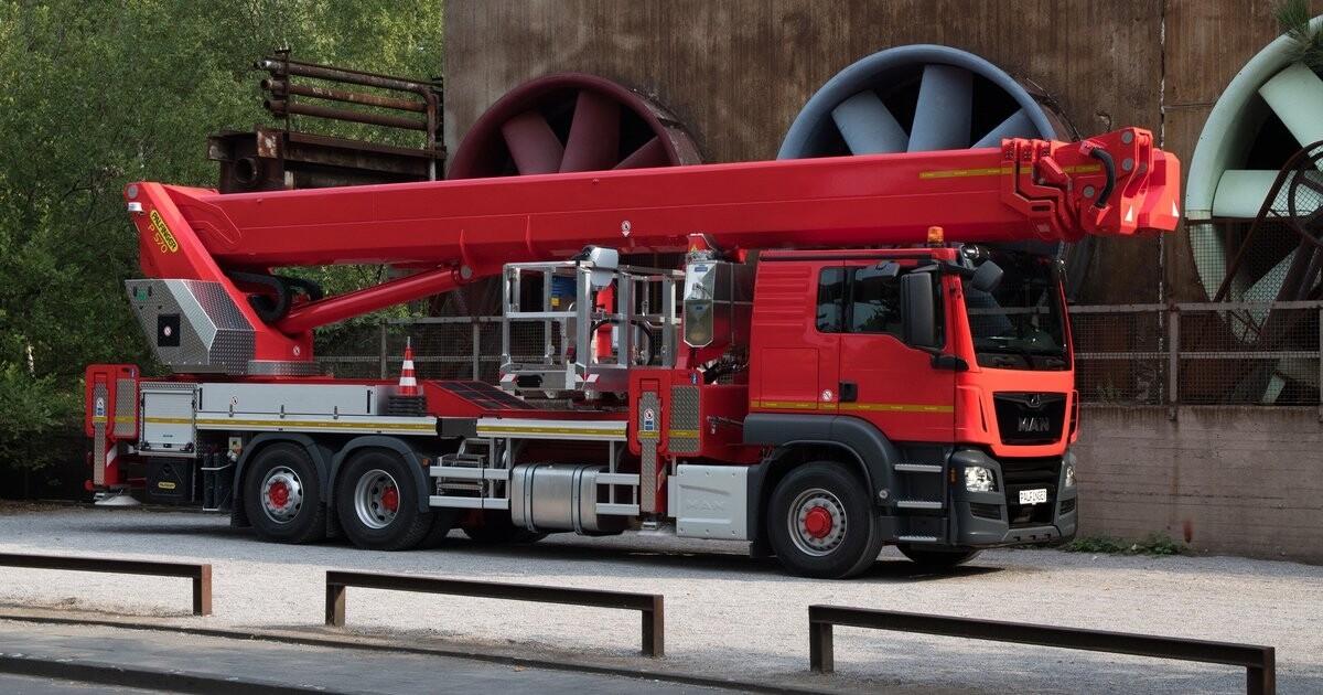 57m Truck Mounted Platform
