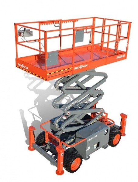 26ft Rough Terrain Scissor Lift