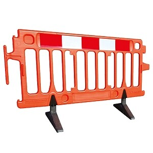 Plastic Barriers - 2mtr
