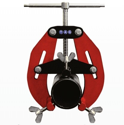 """E-Z Fit Red Pipe Clamps Range: 5"""" - 12"""" o/d"""