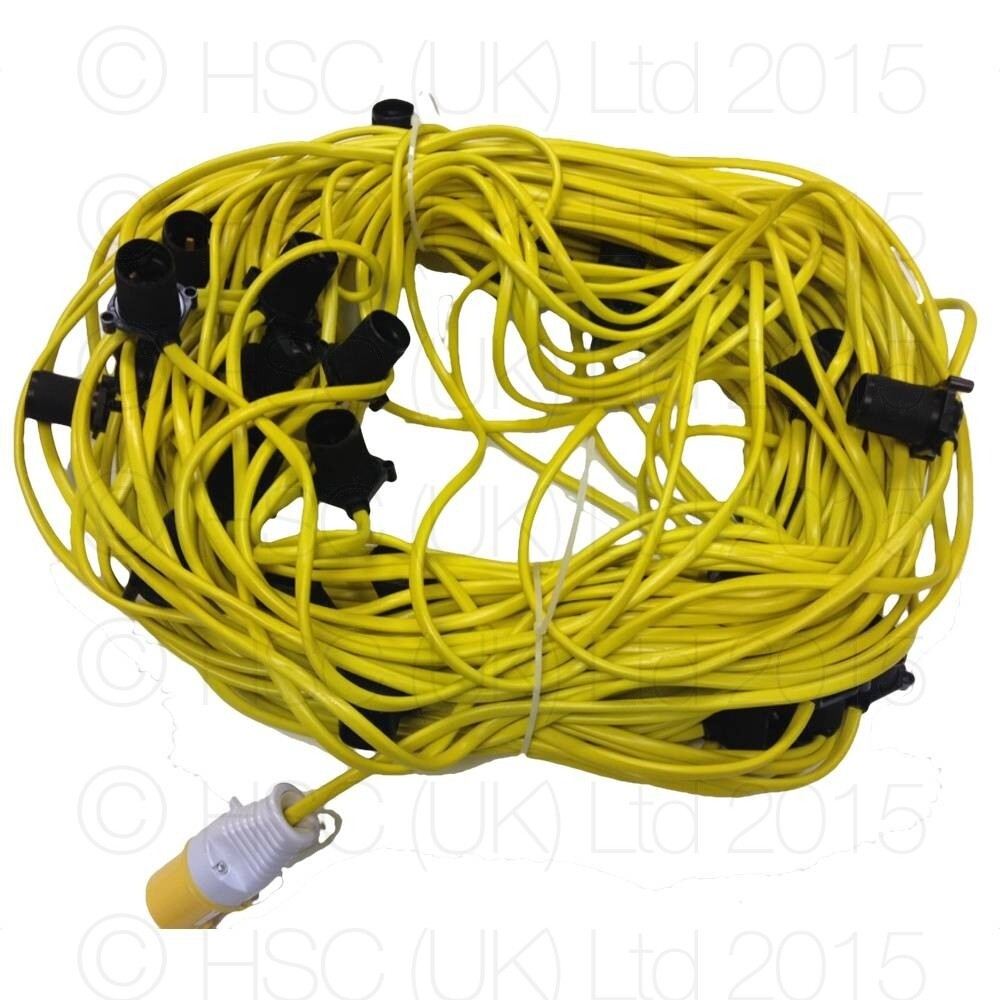 Festoon Lighting Cable (100M X 3M, ES)