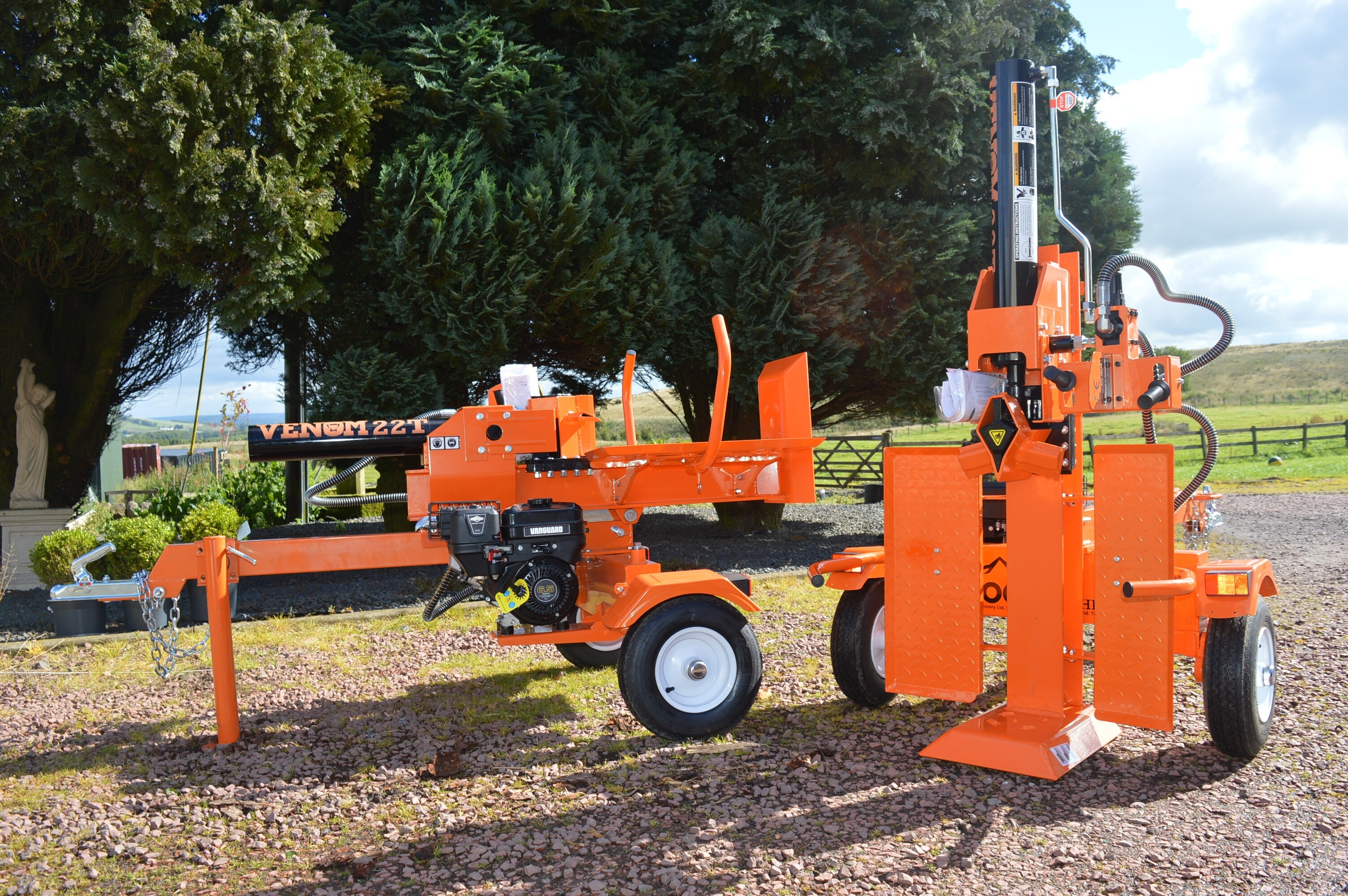 22Ton Log Splitter with table