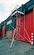 "Aluminium Mobile Access Towers - 1.4m (4'6"") Wide"