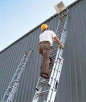 Double Aluminium Extension Ladders