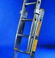 Double 4m Aluminium Extension Ladder