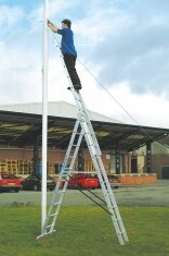 3 Way Combination Ladder Extends to 5m