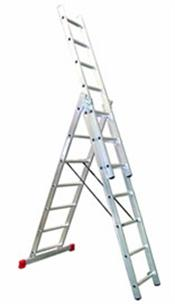 3 Way Combination Ladder Extends to 4.9m