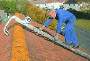 3.4m Extendable Roof Ladder