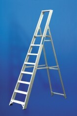 6 Tread Aluminium Platform Step Ladder