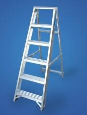 12 Tread Aluminium Swingback Step Ladder