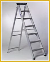 Aluminium Swingback Step Ladder - Various Sizes