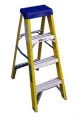 4 Tread Fibre Glass Swingback Step Ladder