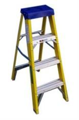 6 Tread Fibre Glass Swingback Step Ladder