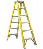 12 Tread Fibre Glass Swingback Step Ladder