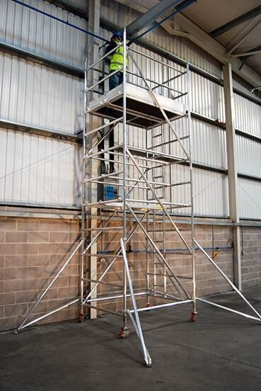Mobile Tower - 1.4m wide x 10.2m high