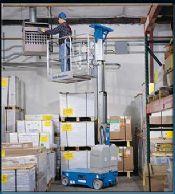 Runabout Vertical Mast Work Platform