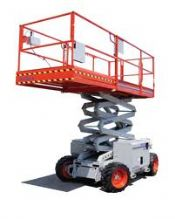 All Terrain Scissor Lift