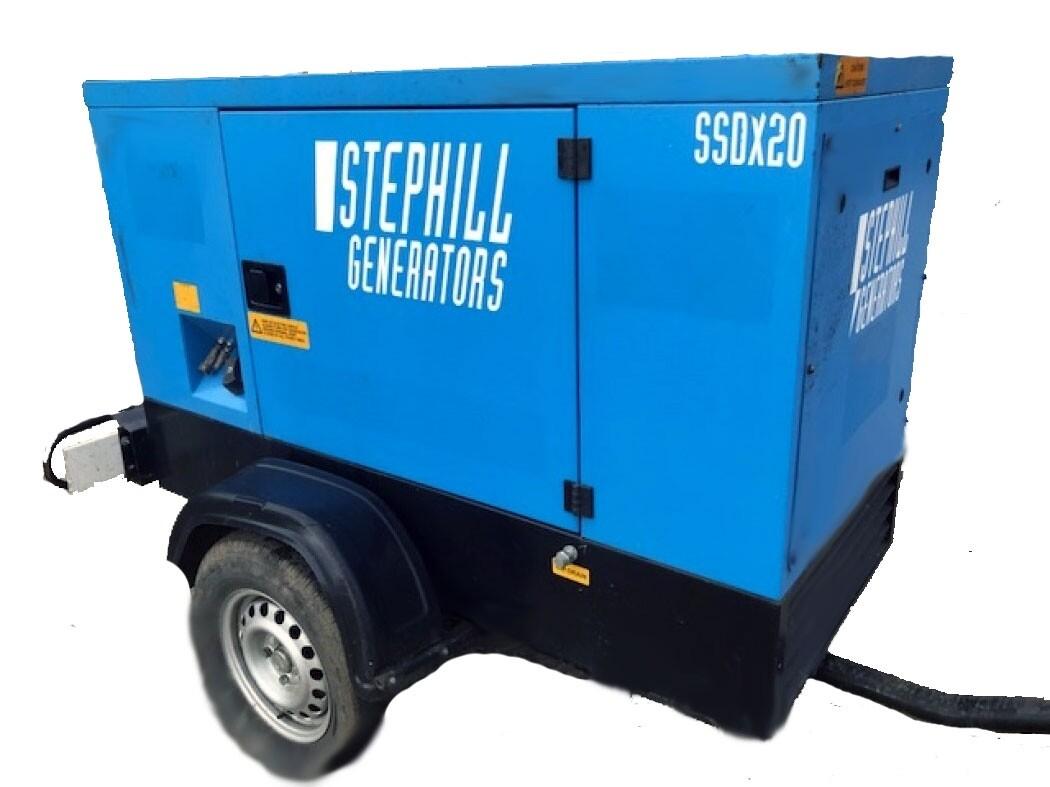 20.0 kva Diesel Generator (Silenced)