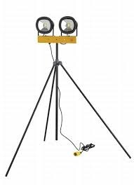 50w LED 110V Swing Leg Double Head Light