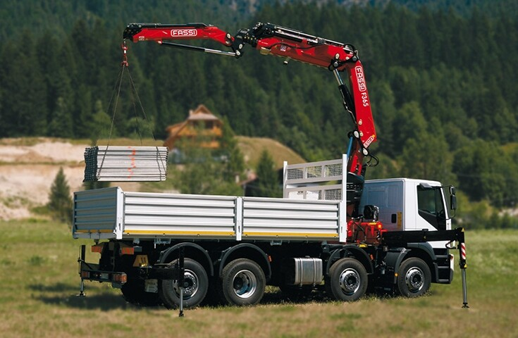 Plant Lorry + Fassi 365 HIAB