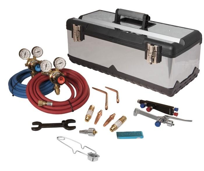 Lightweight Gas Welding & Cutting Set