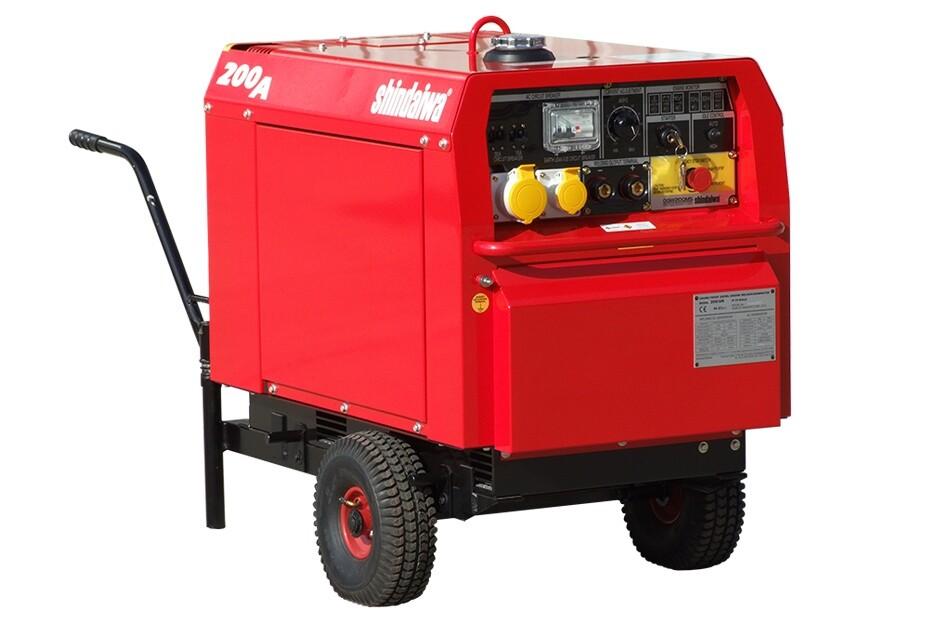 Eco 200/UK Welder Generator
