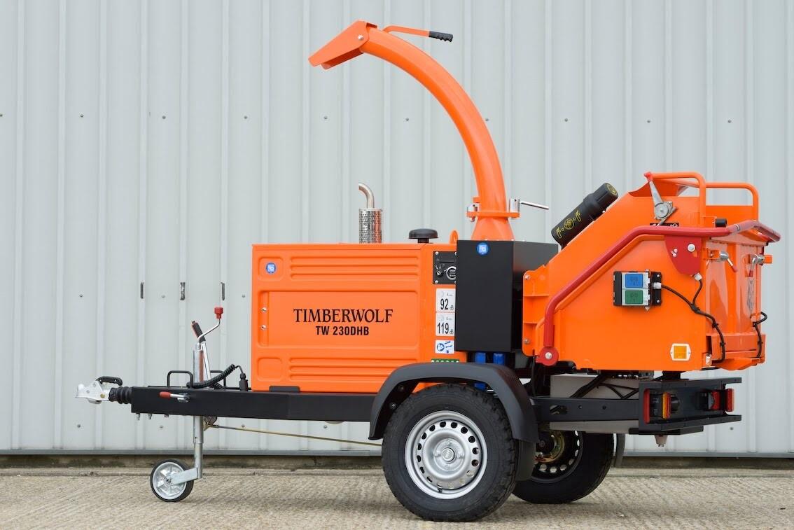 TW230DHB Towable Diesel Chipper