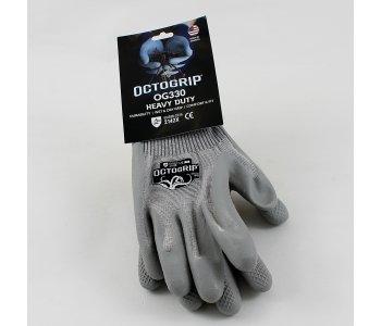 13g Heavy Duty P/C Latex Glove Size L (9)