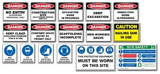 Site Signage Full Range to suit any requirements