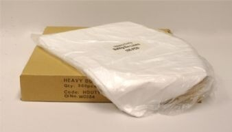 White Bin Liners Pack of 100 £3.45