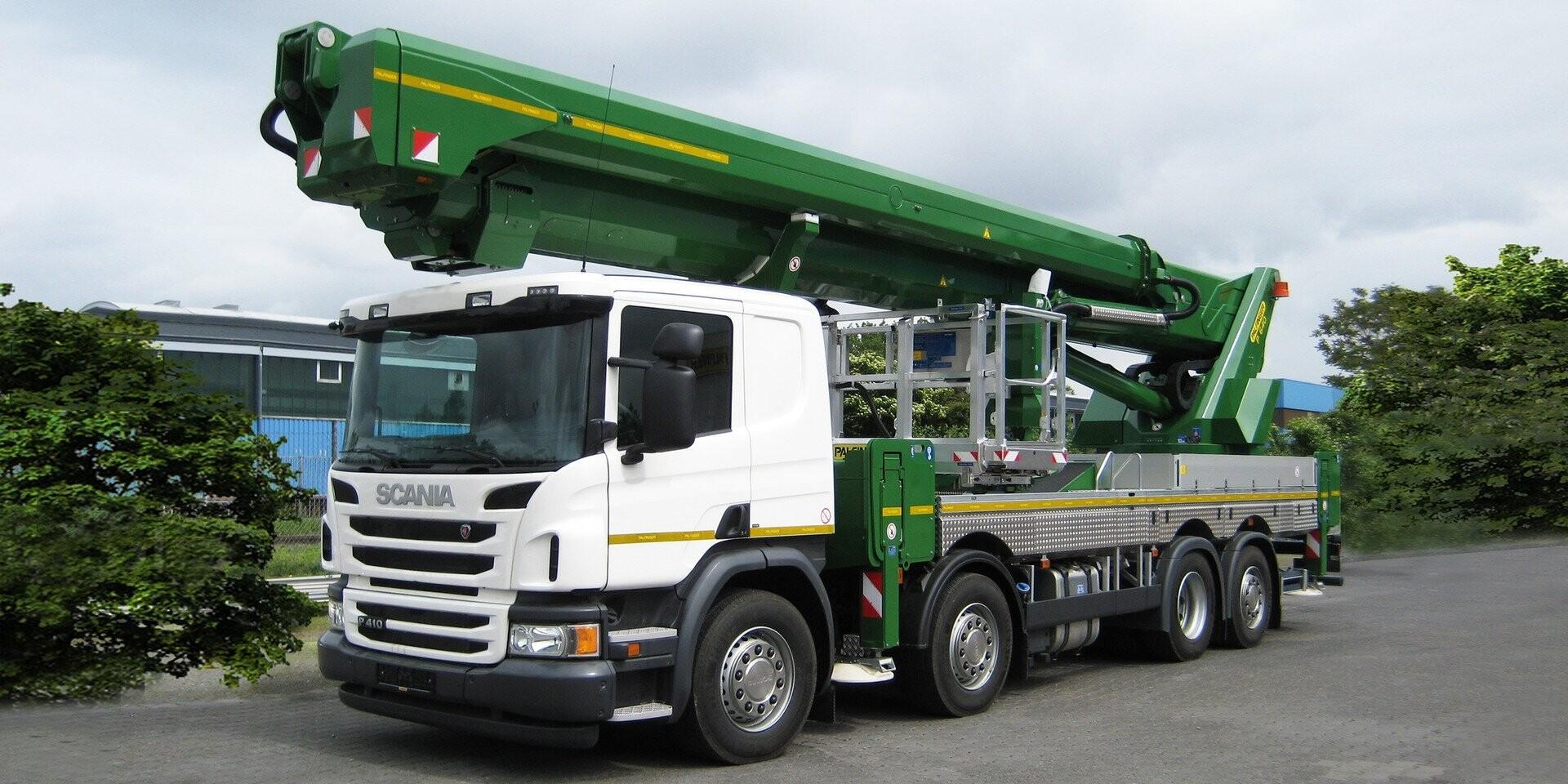 64m Truck Mounted Platform