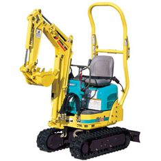 1.0 Tonne Narrow  Micro Digger/Excavator c/w Buckets