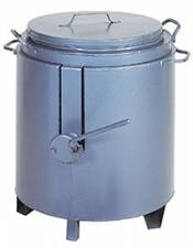 Bitumen Boiler 40 Gallon c/w Tap, Poring Bucket & Ladle