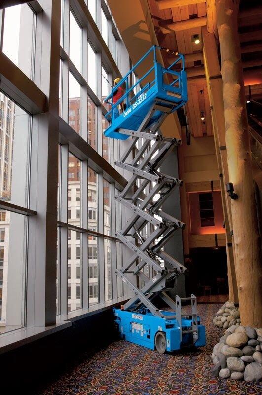 GS™-3232 slab scissor lift