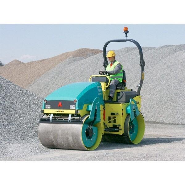 1200mm Tandem Vibrating Roller 1.5 Tonne