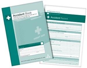 Accident Book £6.95