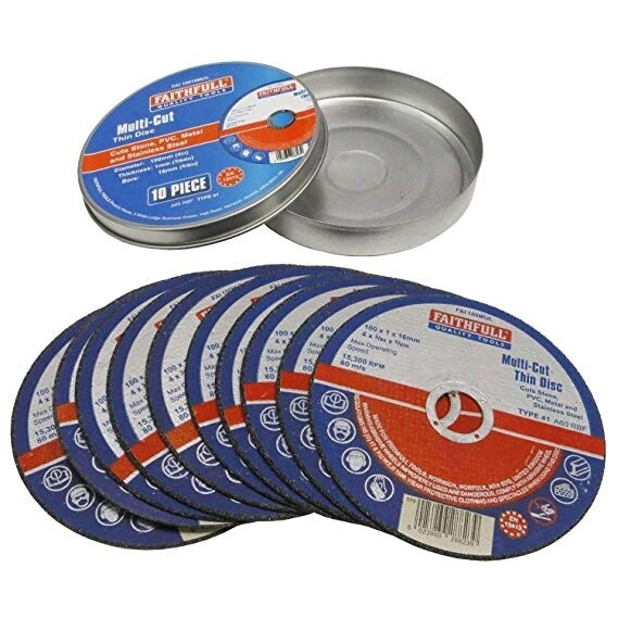 CUTTING DISCS - VARIOUS SIZES