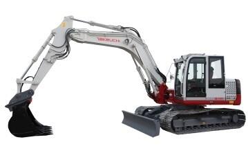14 Ton Excavator c/w Offset Boom