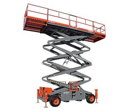 50ft Rough Terrain Scissor Lift