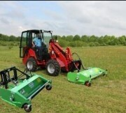 Front Mount Hydro Flail Mower