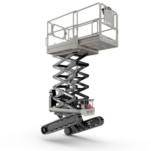 Bi-leveled track lift