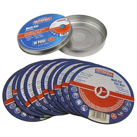 Stone or Metal 125mm Thin Cutting Disc £3.25