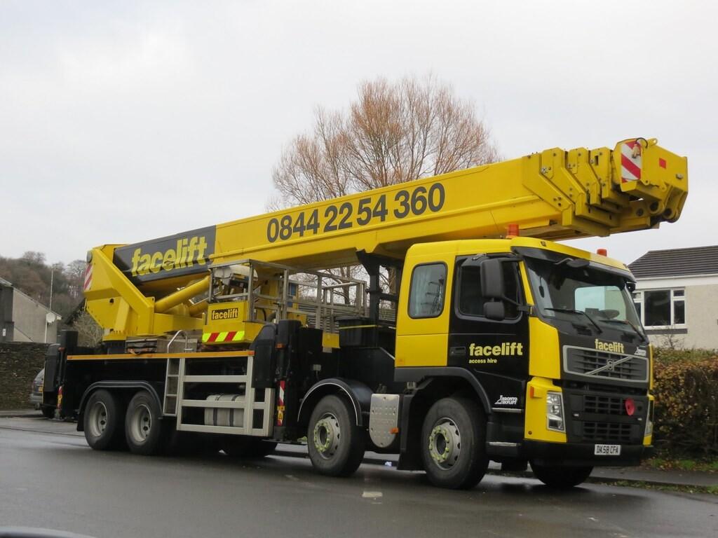 46m Truck Mounted Platform