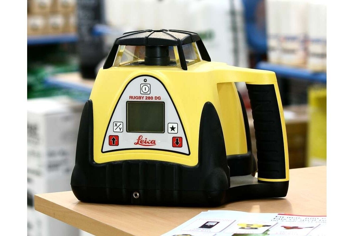 Dual Grade Rotary Laser Level