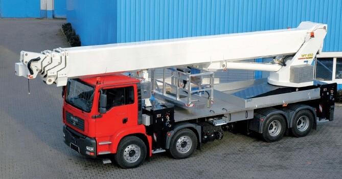 61m Truck Mounted Platform