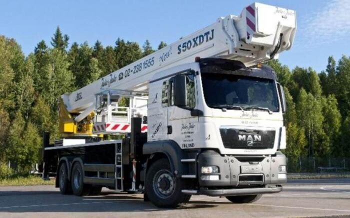 50m Truck Mounted Platform