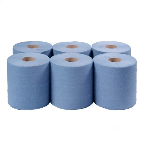 Centre Feed Towels Pack of 6 Rolls