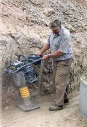 Petrol Trench Compactor/Jumping Jack