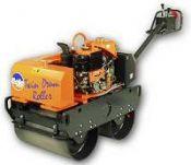 Diesel Pedestrian Vibrating Roller (Twin Drum)