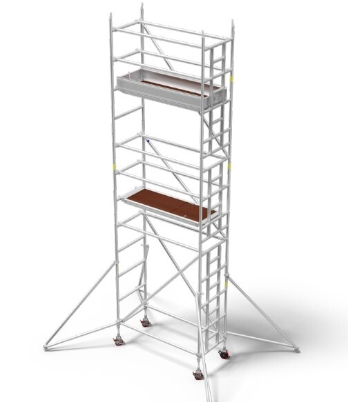 7.4m - Single Width Scaffold Tower